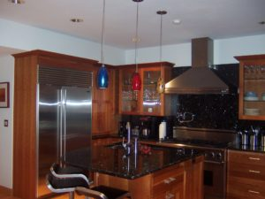 Pendant Lighting in Michigan Kitchen