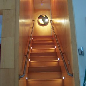 Basement Stairs Lighting