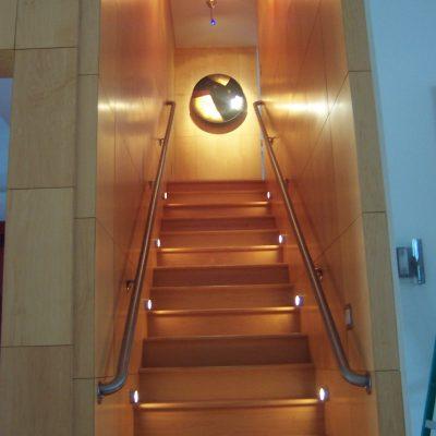 Basement Stairs Lighting